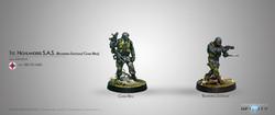Infinity First Highlander S.A.S. (Boarding Shotgun / Chain Rifle ) - Ariadna