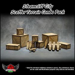 Steamcliff City Scatter Terrain Combo Pack