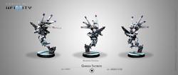 Infinity Garuda Tactbots (Boarding Shotgun) - Aleph