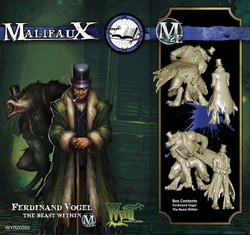Malifaux The Beast Within & Ferdinand Vogel - Arcanists - M2E