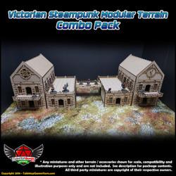 Victorian Steampunk Modular Terrain - Combo Pack