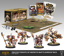 Warmachine Protectorate of Menoth Battlegroup - MK3