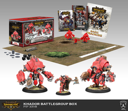 Warmachine Khador Battlegroup - MK3