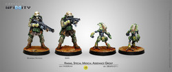 Infinity Hakims, Special Medical Assistance Group (Hackers) - Haqqislam