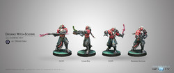 Infinity Daturazi Witch Soldiers - Combined Army