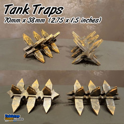 Tank Traps - 4 Pack