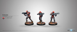 Infinity Intruder Corregidor Assault Commando (HMG) - Nomads