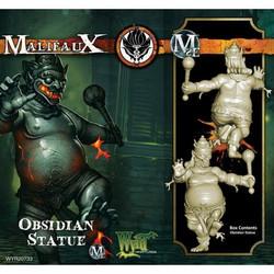 Malifaux Obsidian Statue - Ten Thunders - M2E