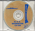 USS Bremerton CA 130 1954 Westpac Cruise Book on CD