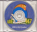 USS Jenkins DDE 447 1953 54 Westpac Cruise Book CD