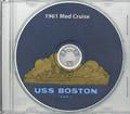 USS Boston CAG 1 1960 - 1961 CRUISE BOOK  CD RARE Navy