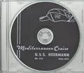 USS Heermann DD 532 1956 - 1957 Med Cruise Book CD RARE