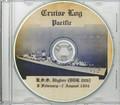 USS Higbee DDR 806 1954  Western Pacific Cruise Book CD