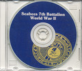 Seabees 7th  Naval Construction Battalion Log WWII  on CD RARE