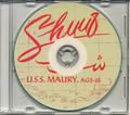 USS Maury AGS 16 1953 Med Cruise Book CD