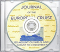 USS Mount Olympus AGC 8 1952 Med Cruise Book on CD RARE