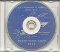 USS Newman K Perry DDR 883 1952 Med Cruise Book on CD