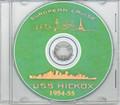 USS Hickox DD 673 1954 - 1955 CRUISE BOOK CD  US Navy