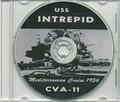 USS Intrepid CVA 11 1956 Med CRUISE BOOK CD US Navy
