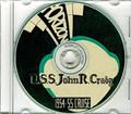 USS John R Craig DD 885 1954 - 1955 Cruise Book on CD