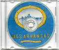 USS Arkansas BB 33 CRUISE BOOK  1944 Review WWII  CD