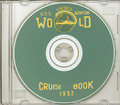 USS Barton DD 722 1952 World  Cruise Book on CD RARE