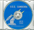 USS Canberra CAG 2 1959 Med Cruise Book on CD RARE