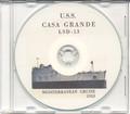 USS Casa Grande LSD 13 1953 Med Cruise Book CD