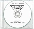 USS Coolbaugh DE 217 1954 CRUISE BOOK CD  RARE US Navy