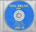 USS Delta AR 9 1955 CRUISE BOOK CD  RARE US Navy