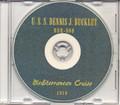 USS Dennis J Buckley DDR 808 Med 1950 Cruise Book CD