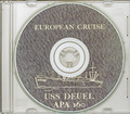 USS Deuel APA 160 1952 - 53 Med Cruise Book on CD RARE