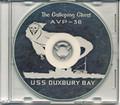 USS Duxbury Bay AVP 38 1954 1955 World Cruise Book CD