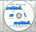 USS Endicott DMS 35 1953 Korea Cruise Book on CD RARE