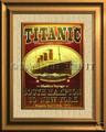 Titanic Maiden Voyage 1912 Color Canvas Print