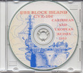 USS Block Island CVE 106 CRUISE BOOK Log 1953 Med CD