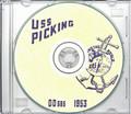 USS Picking DD 685 1953 World Cruise Book on CD RARE