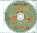 USS Walke DD 723 1954 Westpac Cruise Book CD RARE