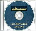 USS Kitty Hawk CVA 63 1965 - 1966 Cruise Book CD RARE