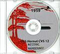 USS Hornet CVS 12 1959 Westpac CRUISE BOOK Log CD