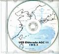 USS Eldorado AGC 11 CRUISE BOOK Log 1953 CD