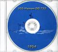USS Hyman DD 732 1954 CRUISE BOOK Log CD