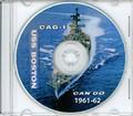USS Boston CAG 1 1961 - 1962 CRUISE BOOK  Med CD RARE Crew Log Navy Photos