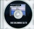 USS Columbus CA 74 1954 - 1955  MED CRUISE BOOK Log Crew Photos CD
