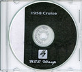 USS Wasp CVS 18 1958 Med Cruise Book Log Crew Photos The Huntsman CD