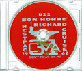 USS Bon Homme Richard CVA 31 CRUISE BOOK Log 1962 - 1963 Crew Photos CD