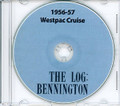 USS Bennington CVA 20 Westpac CRUISE BOOK Log 1956 - 1957 CD