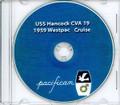 USS Hancock CVA 19 1959 Westpac Cruise Book CD RARE