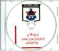 USS George Clymer APA 27 Westpac CRUISE BOOK Log 1961  CD