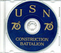 Seabees NCB 70th Naval Battalion Log WWII on CD